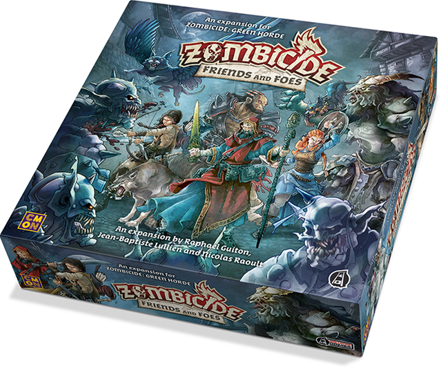 Zombicide Green Horde - Friends and Foes