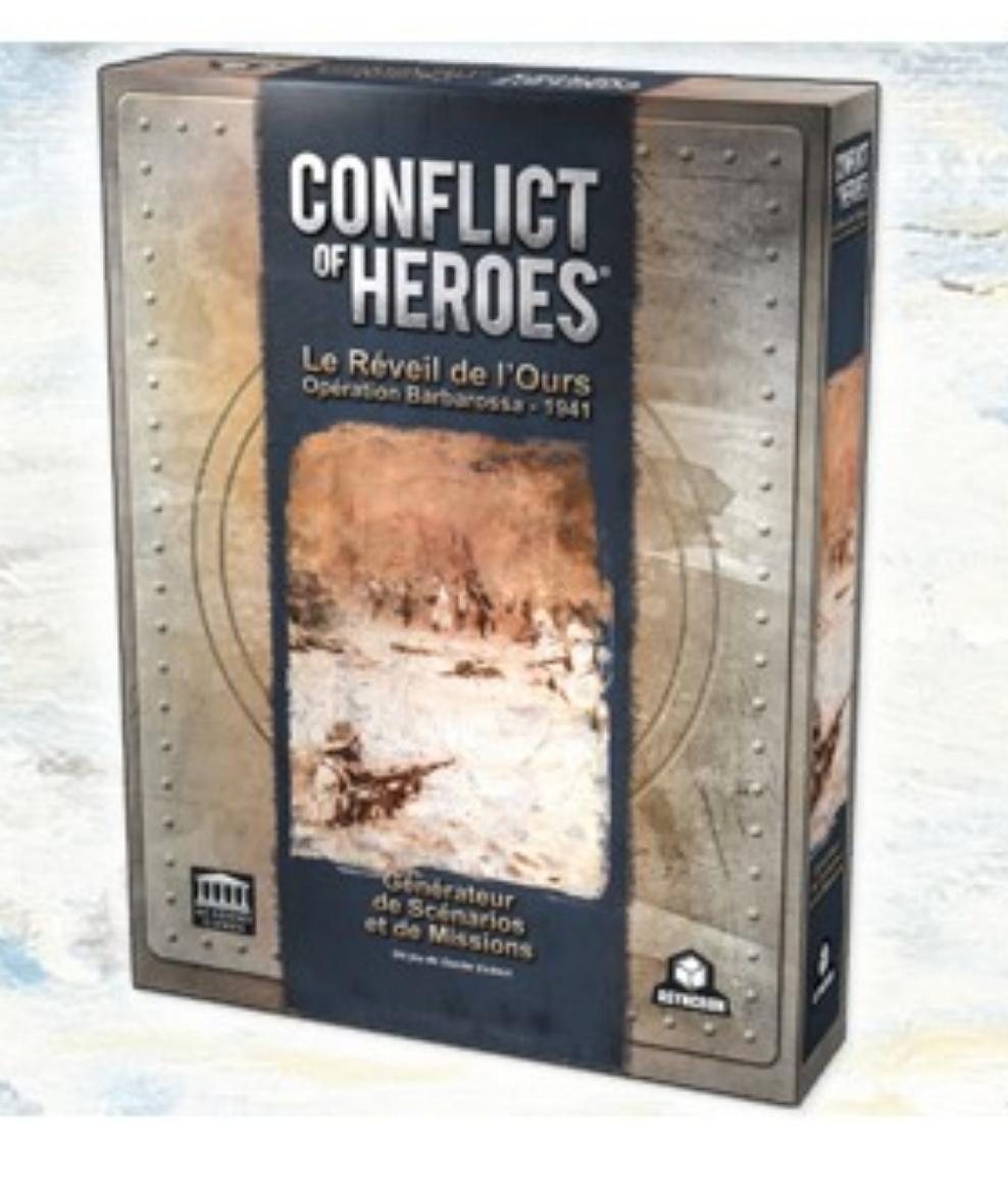 >Conflict of Heroes - Le réveil de l'Ours - Générateur de Scénarios