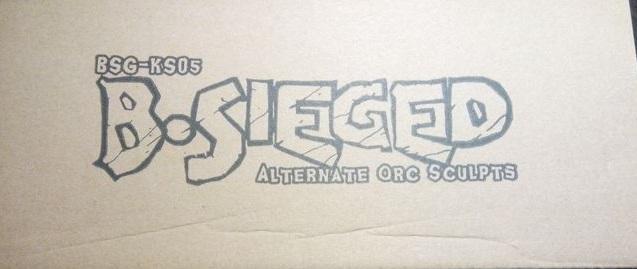 B-Sieged: Alternate Orc Sculpt