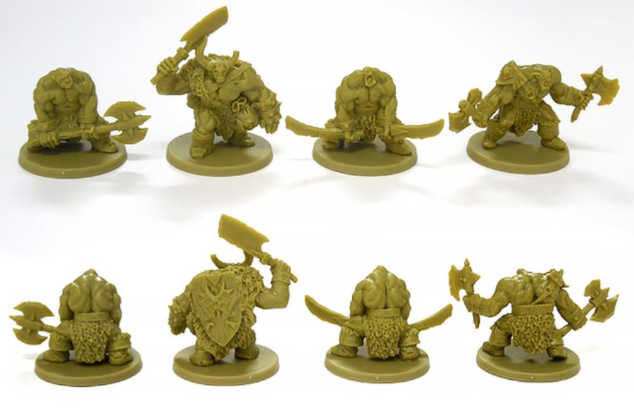 B-Sieged - Alternate Orc Sculpts