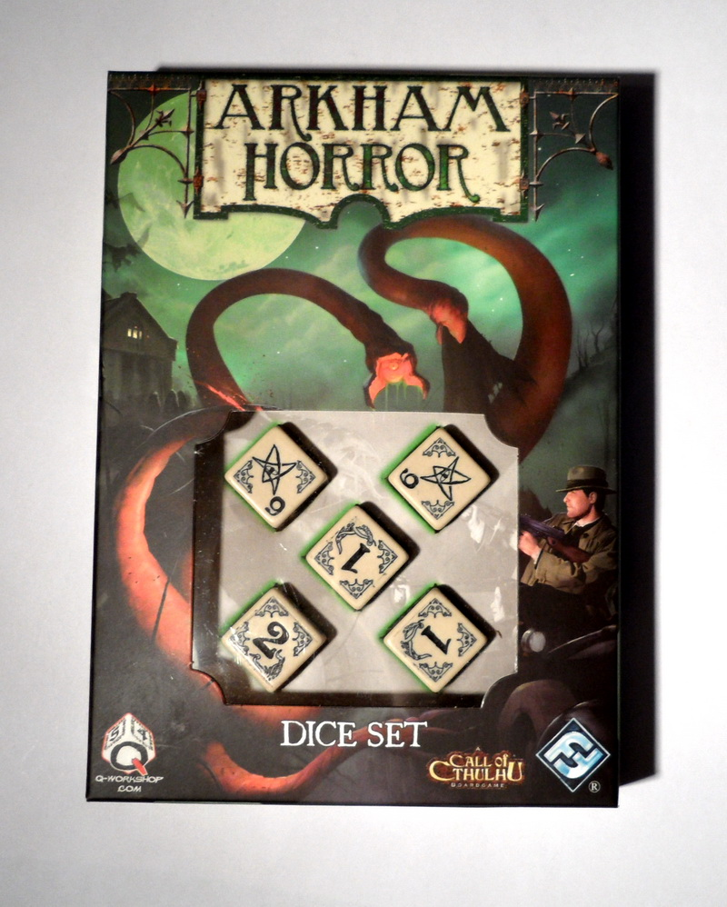 Arkham horror dice set beige