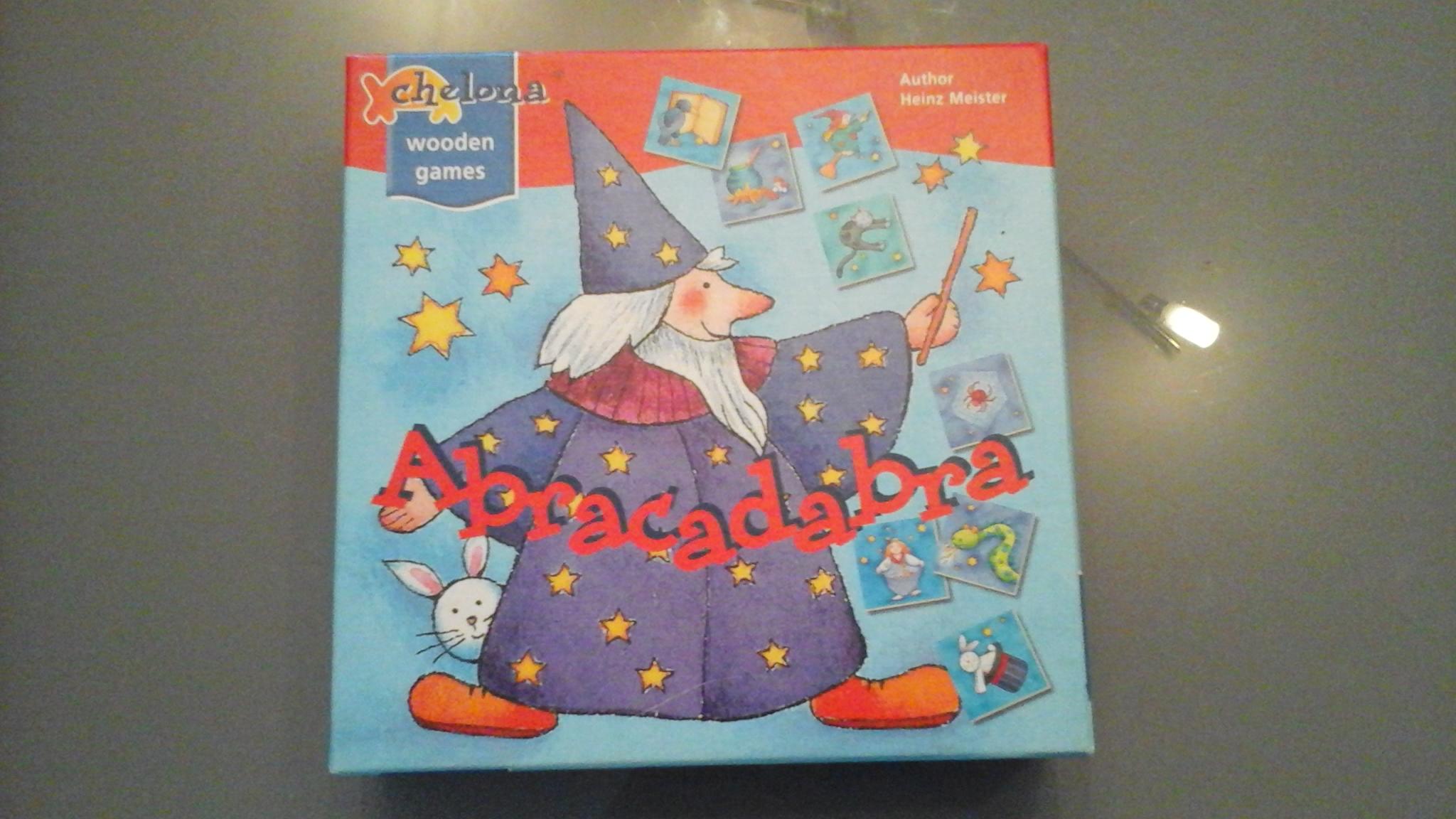 Abracadabra - Wooden Games