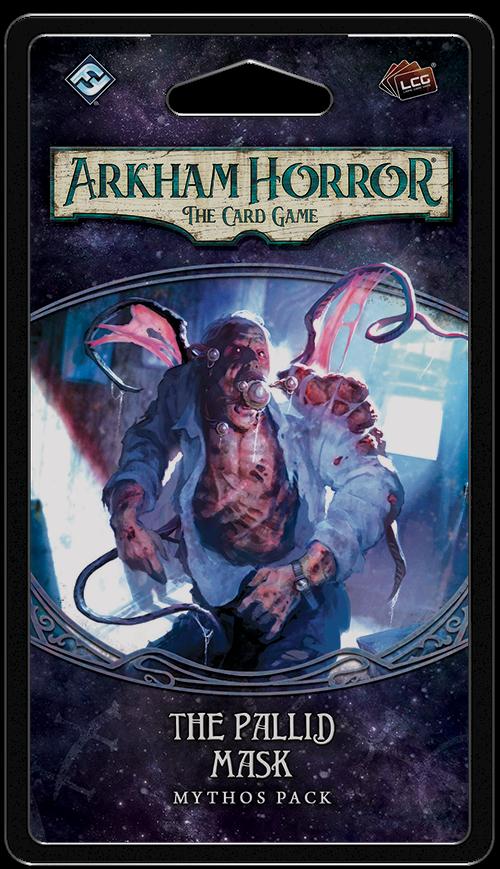 Arkham Horror JCE - The pallid mask