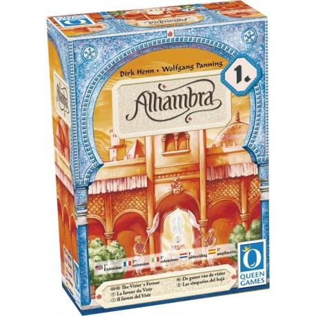Alhambra - extension 1 - les faveurs du vizir