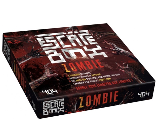 Escape box - zombie