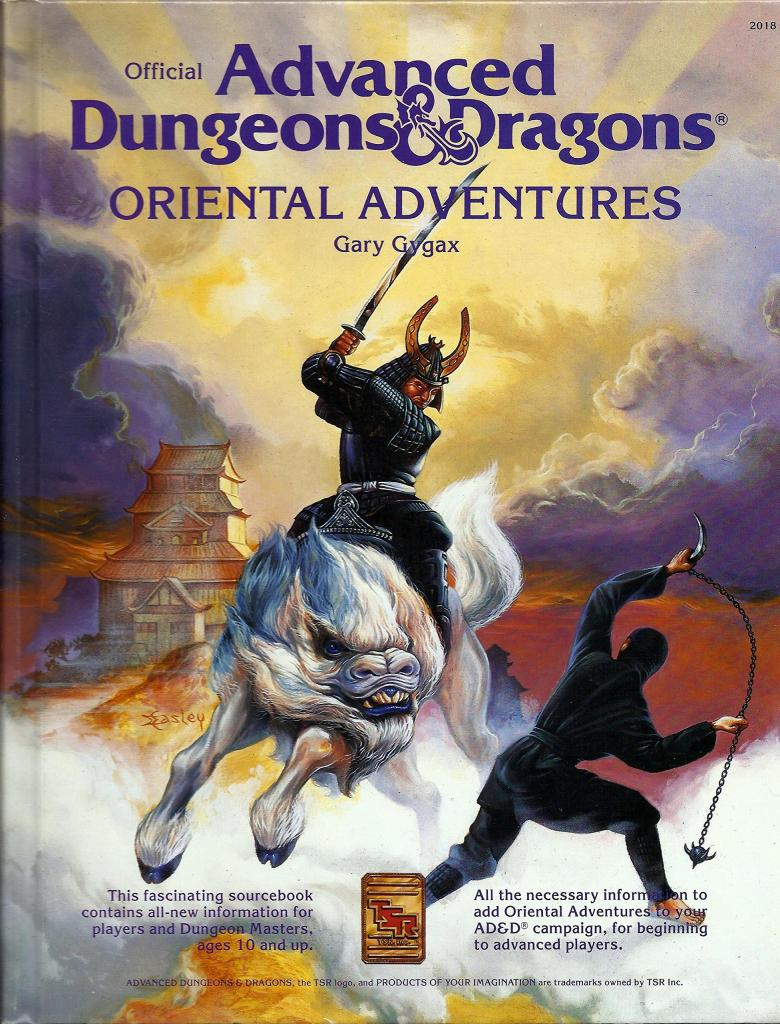 Advanced Dungeons & Dragons - 1st Edition - Oriental Adventures