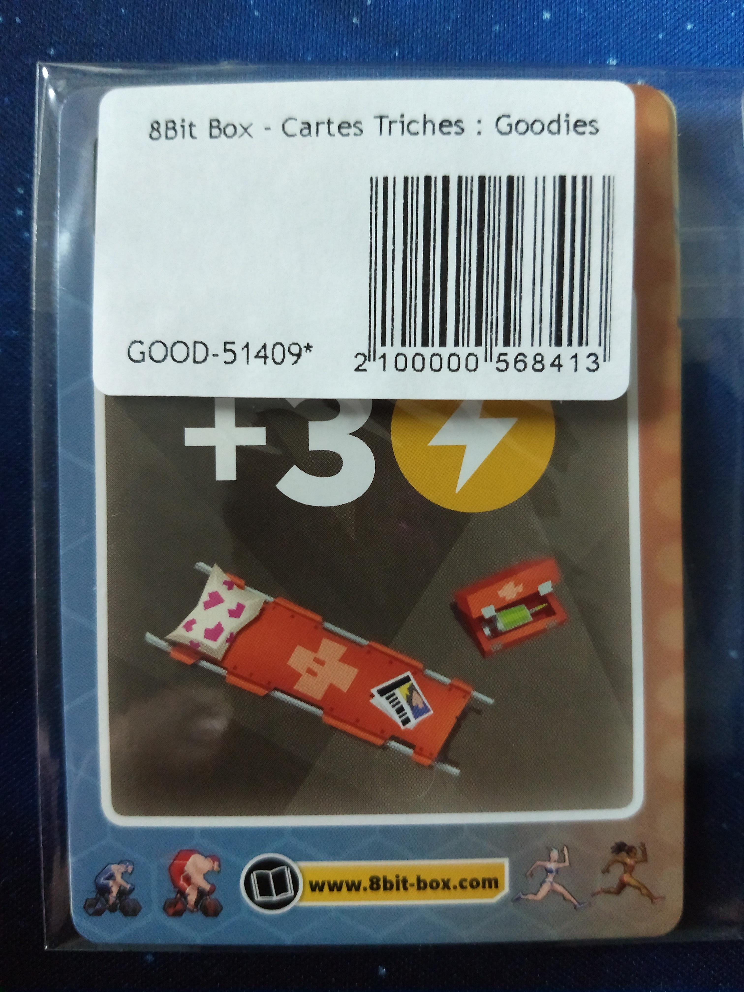 8Bit Box : Cartes triches Goodies