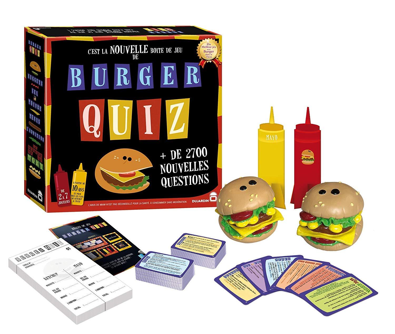 Burger quiz 2018