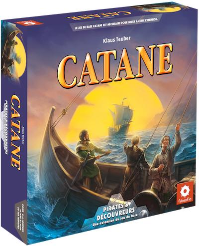 Catane / Les Colons De Catane : Pirates & découvreurs