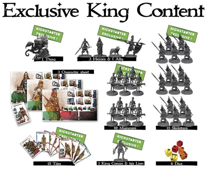 Conan - Kit de conversion KING