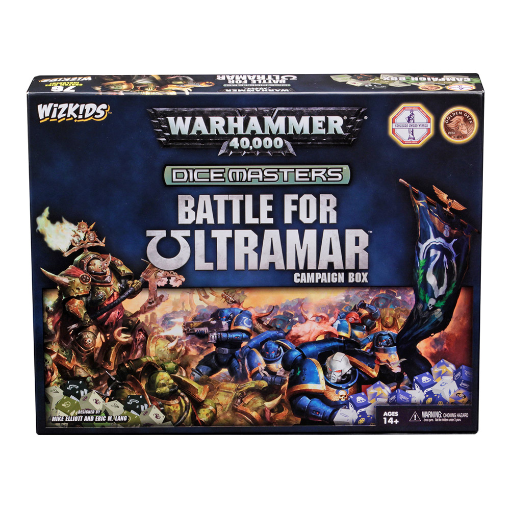Dice Masters: Battle for Ultramar Campaign Box Warhammer 40,000
