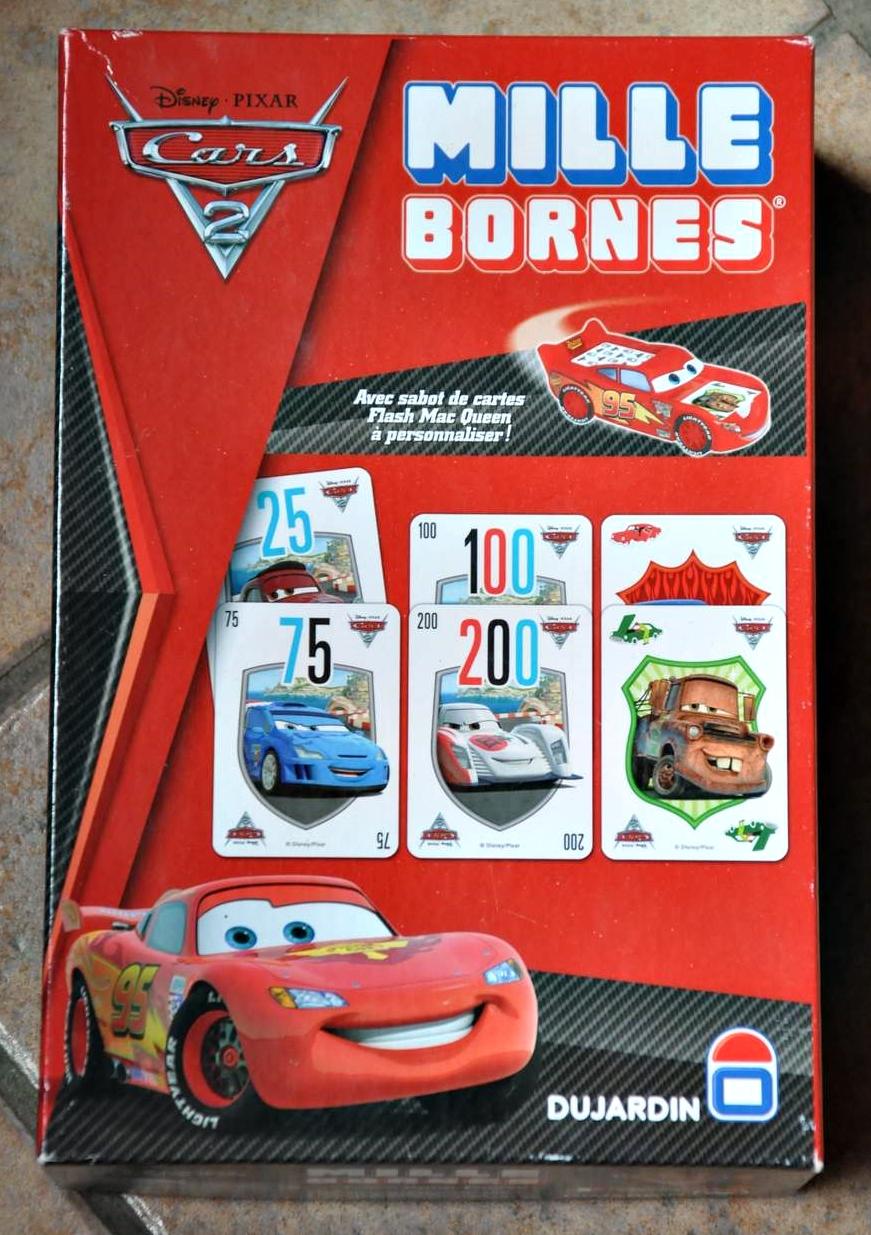 1000 bornes - cars 2