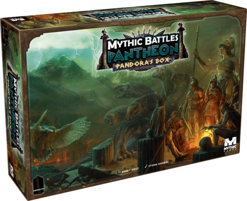mythic battles pantheon - god pledge KS + extension(s)