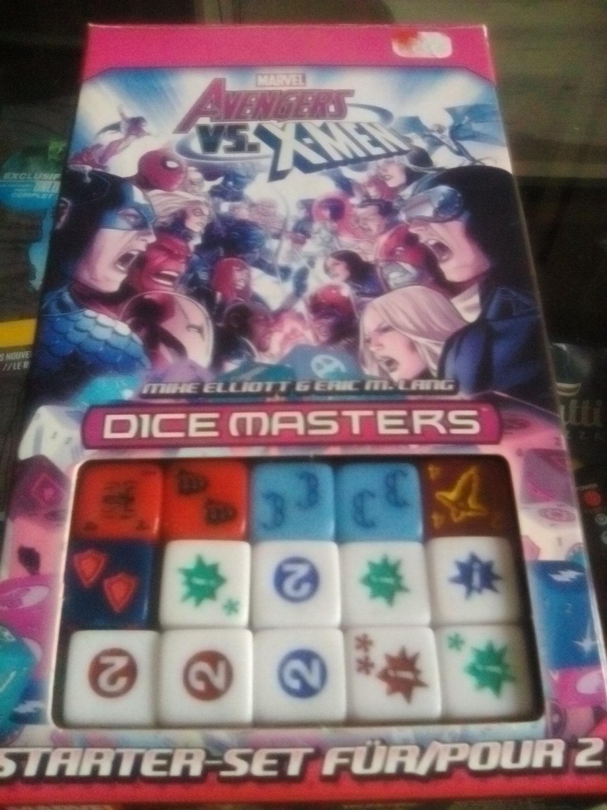 Marvel Dice Masters Avengers vs X-Men