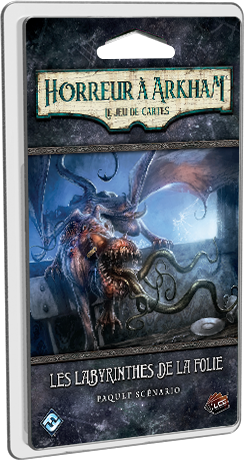 Horreur à Arkham - JCE : Les labyrinthes de la folie