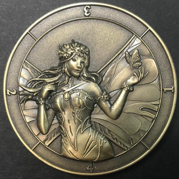 Dice coin (d4 fairy)