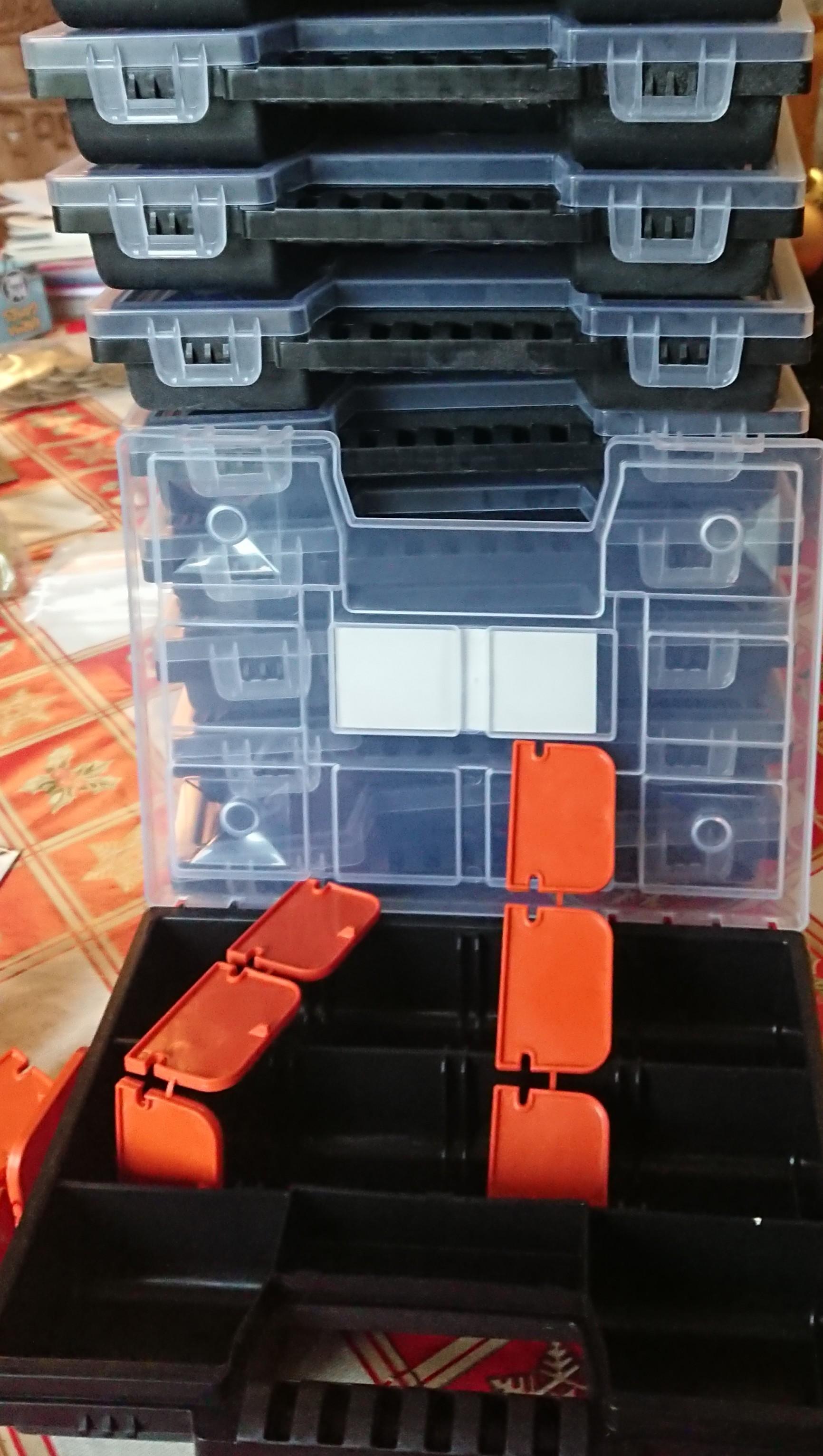 Boîte de rangement modulable 11 compartiments