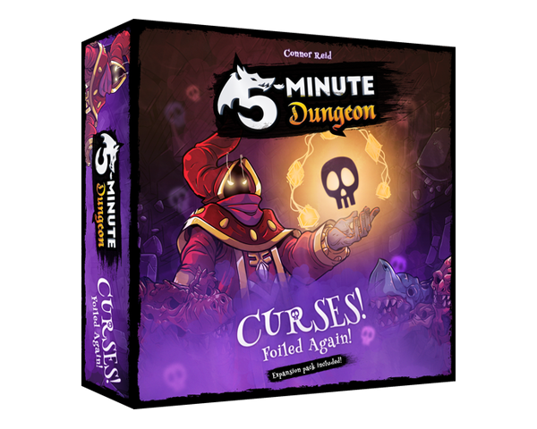 5-minute Dungeon - Curses! Foiled Again!