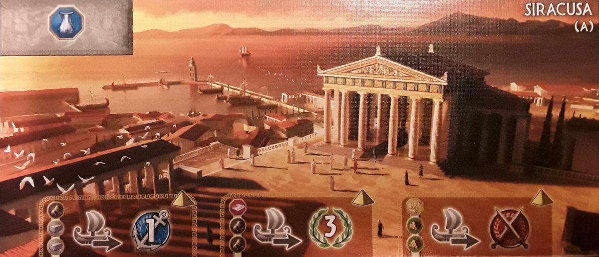 7 wonders : Merveille Siracusa