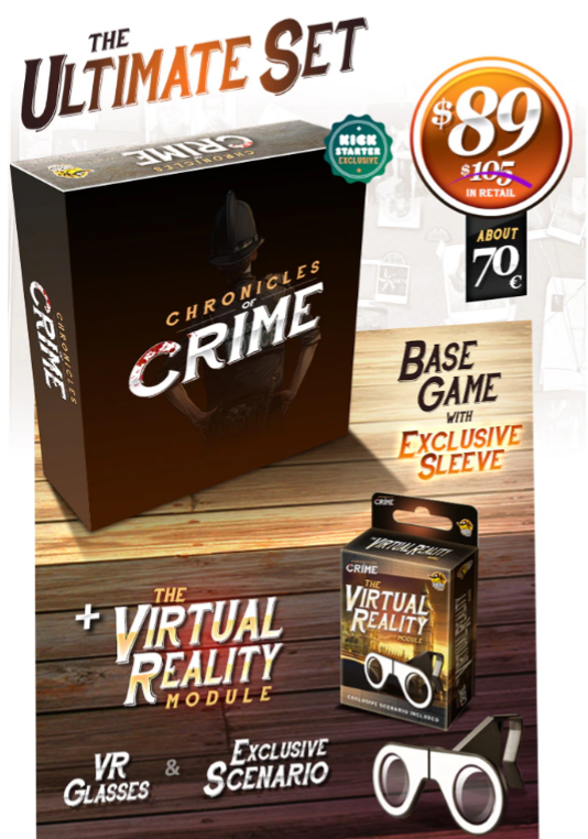 Chronicles of Crime - Ultimate Set KS