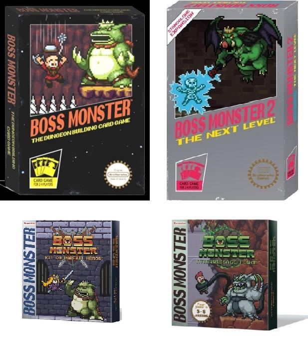 Boss Monster + extensions