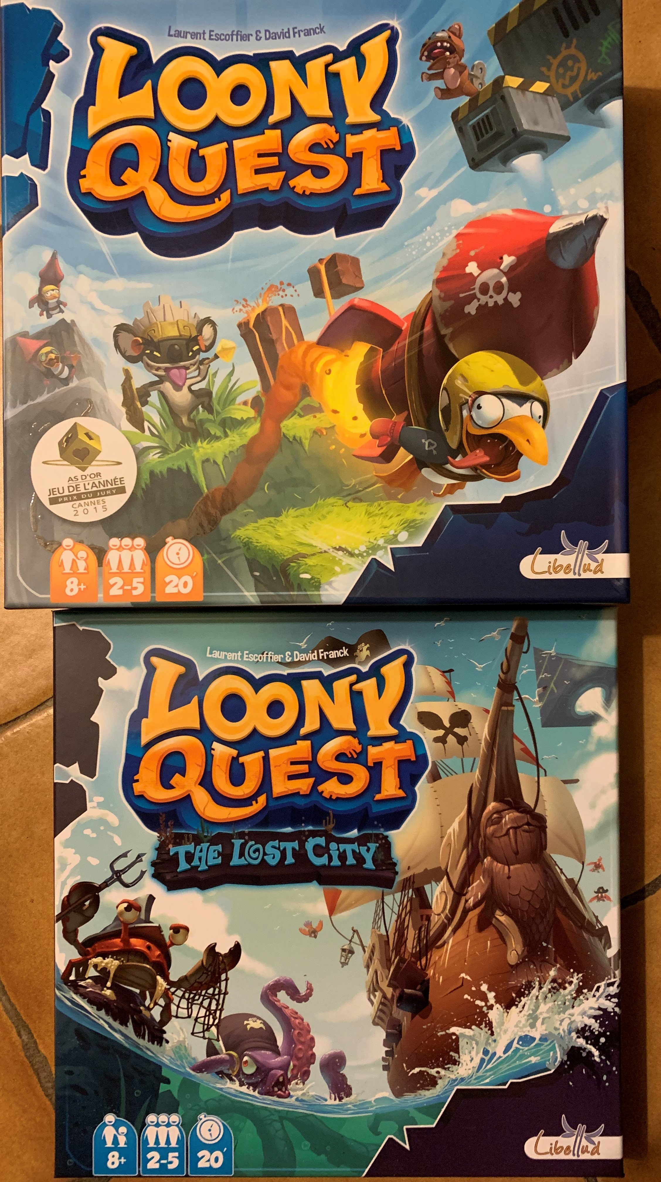 Loony Quest + extension(s)