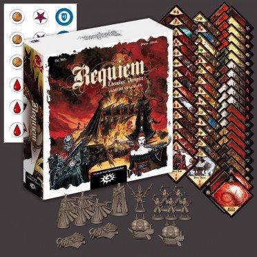 Requiem Chevalier Vampire - le jeu