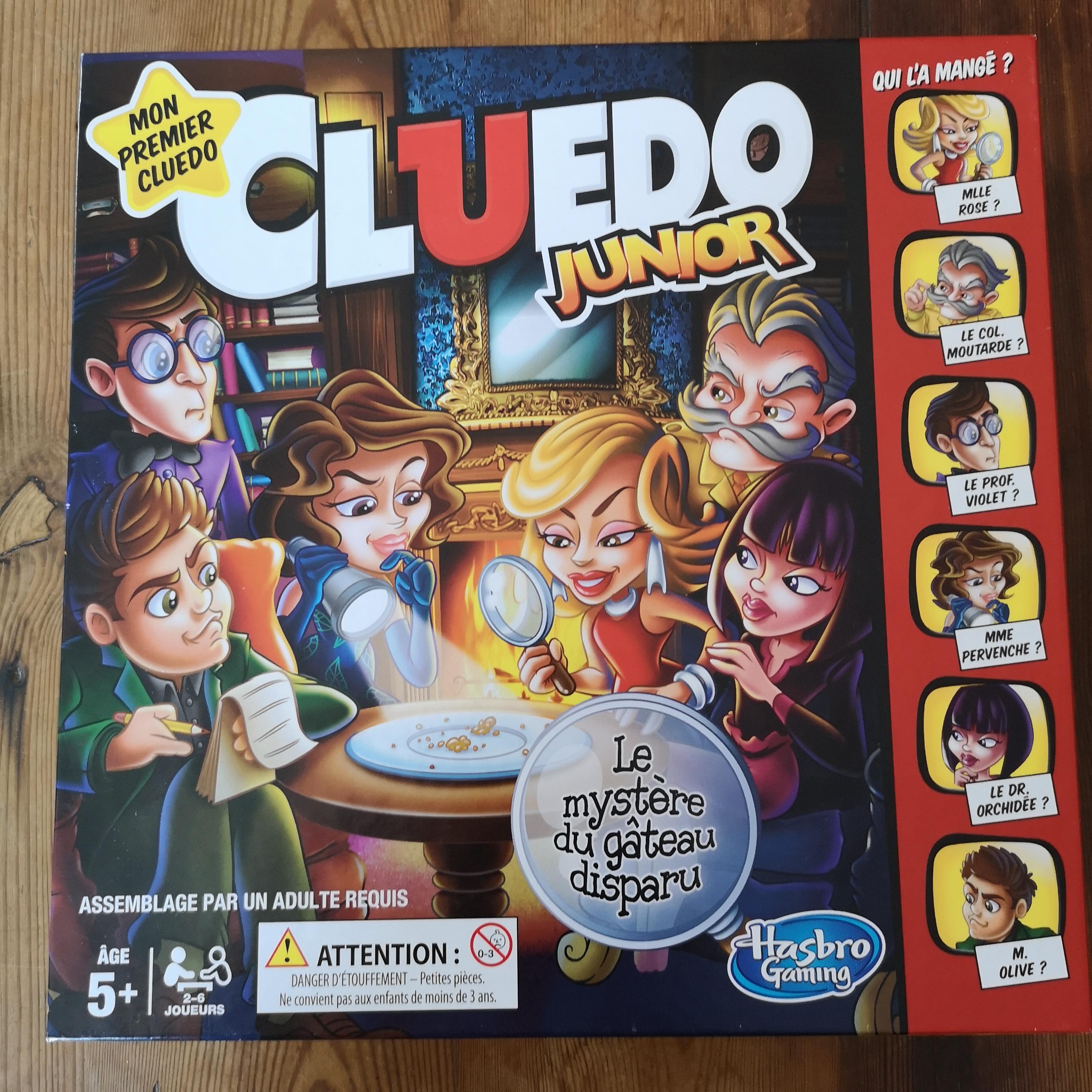Cluedo Junior - Mon premier Cluedo - Le mystère du gâteau disparu