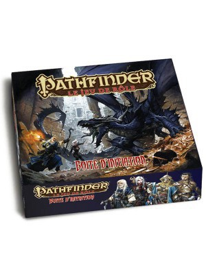 Pathfinder JDR - Boîte d'initiation