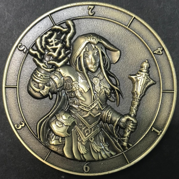 Dice coin (d6 cleric)