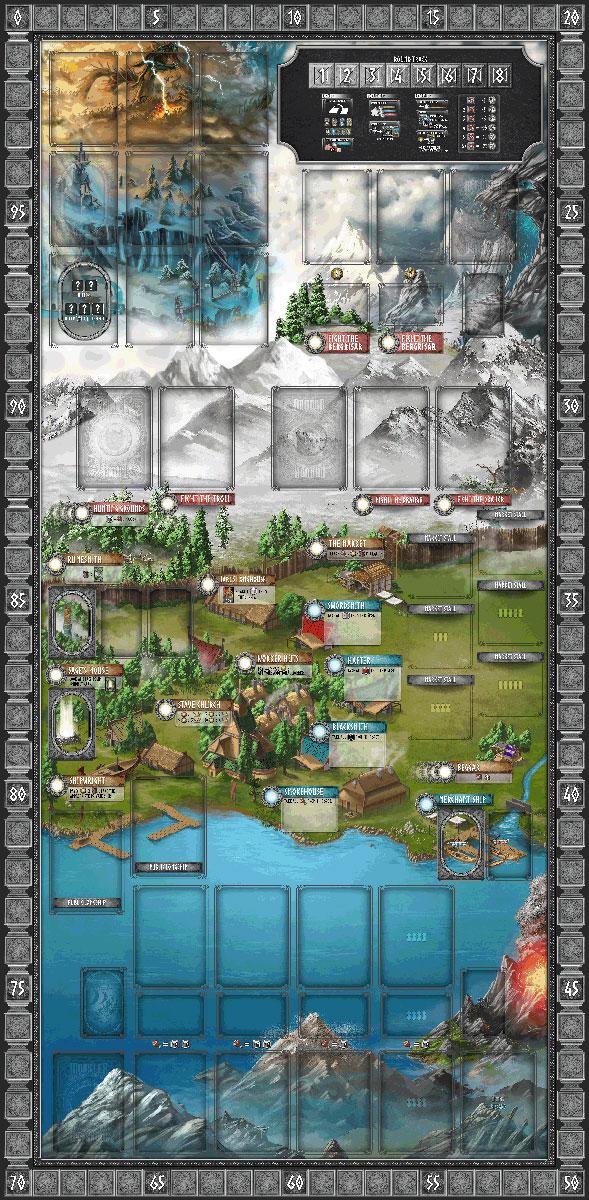 Champions of Midgard : Playmat
