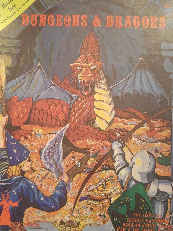 Dungeons & Dragons Basic Set 2nd ed november 1978