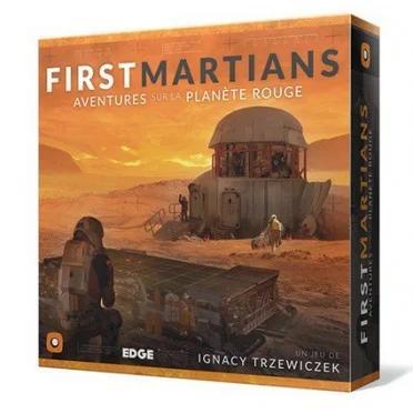 First Martians : Aventures sur la planete rouge