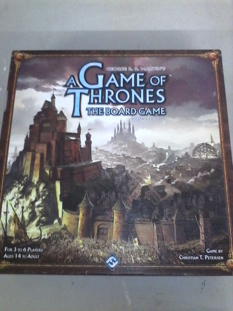 A game of thrones: the boardgame (second edition)