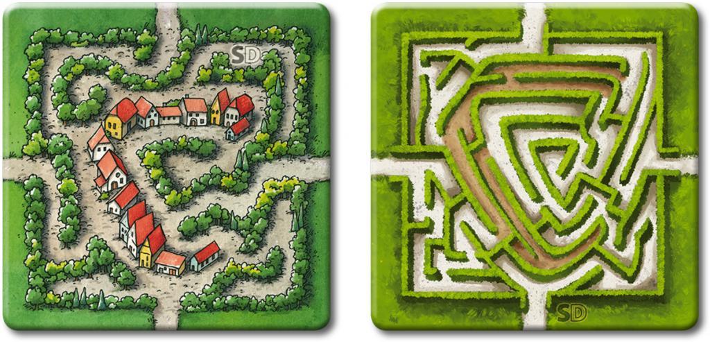 Carcassonne - Le labyrinthe