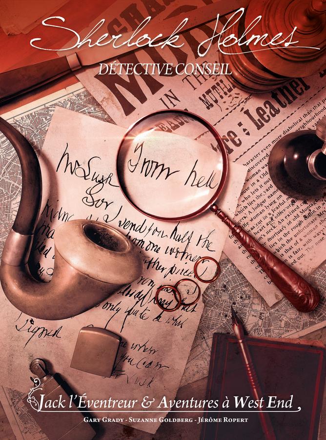 Sherlock Holmes Détective Conseil - Jack l'Éventreur & Aventures à West End