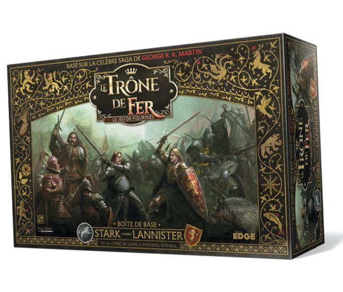 Le Trône de Fer - Le Jeu de Figurines - La Boîte de Base Stark vs Lannister