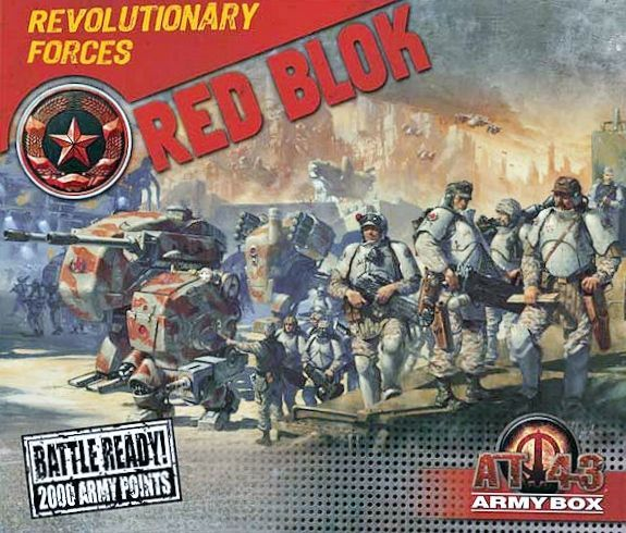 AT-43 ARMY BOX RED BLOK