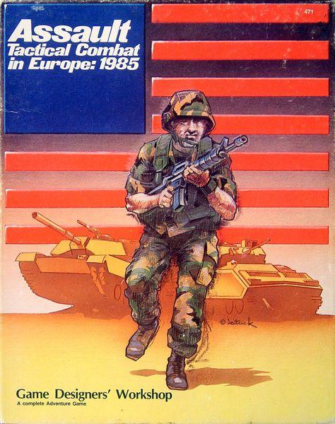 Assault: Tactical Combat in Europe – 1985