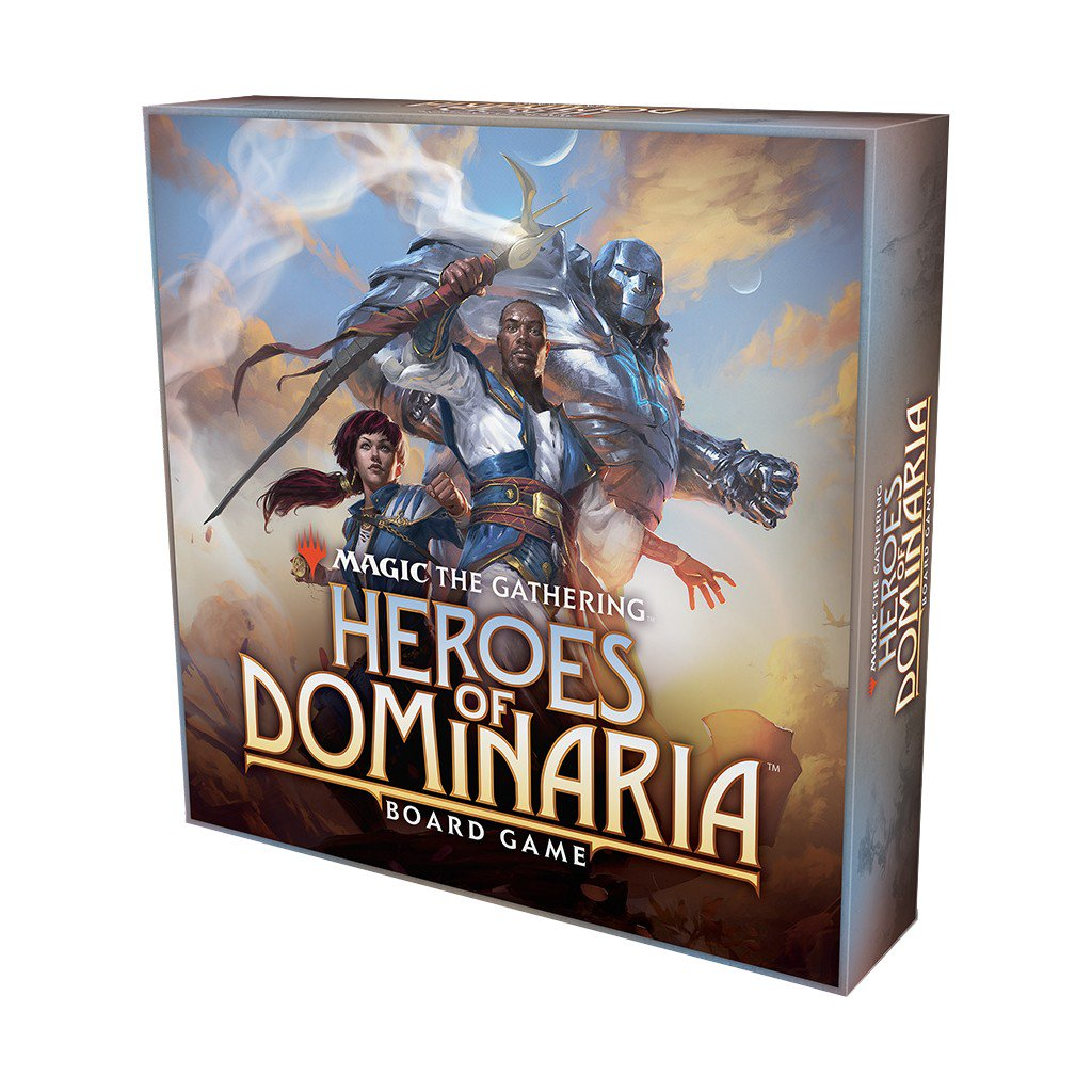 Magic The Gathering : Heroes of Dominaria Board Game