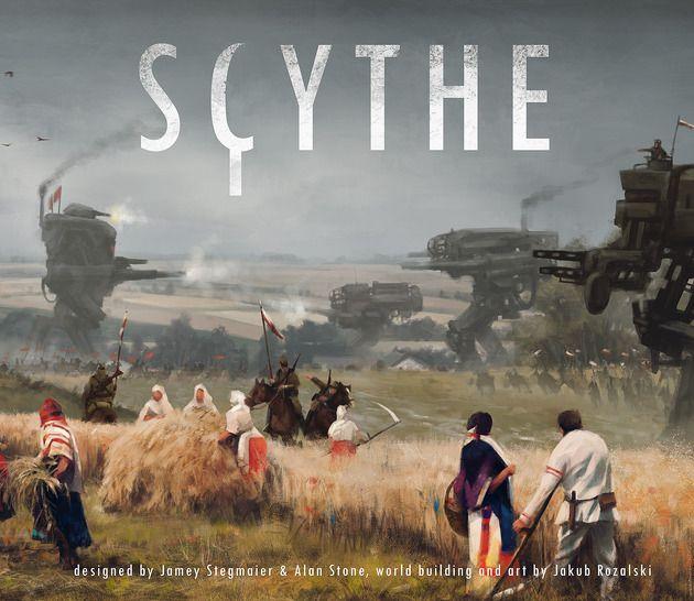 Scythe - Pièces détachées