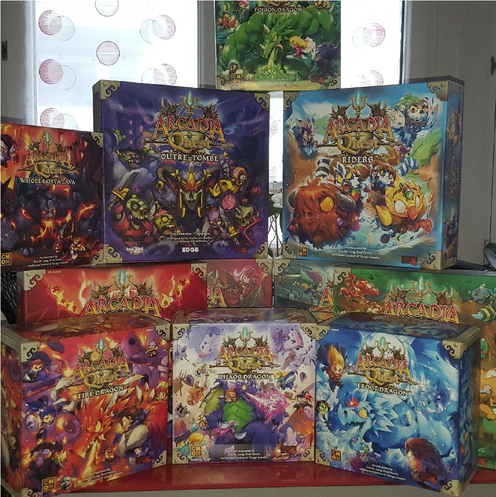 Arcadia Quest collection