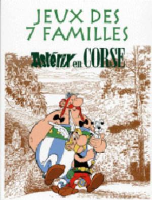 Astérix en corse jeu de 7 familles