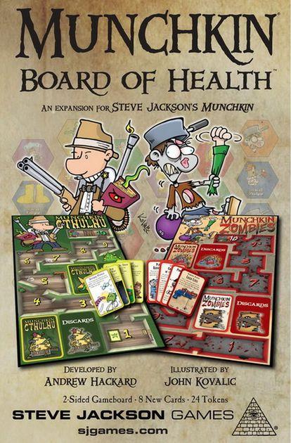 Munchkin - Board of Health