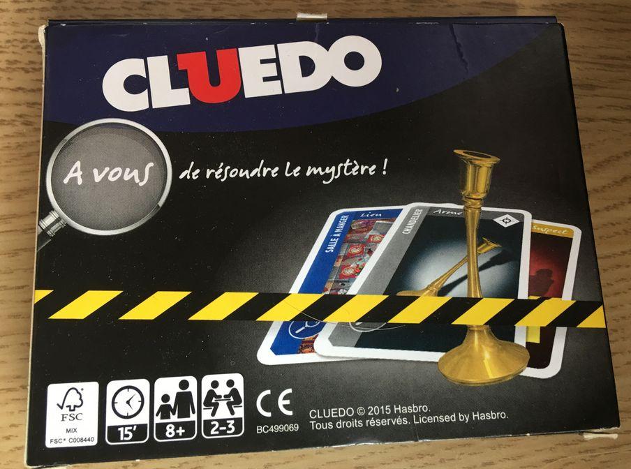 Cluedo - Cartes