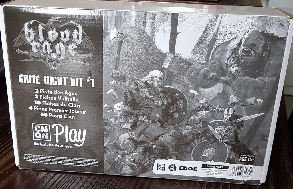 Blood rage : Game Night Kit 1