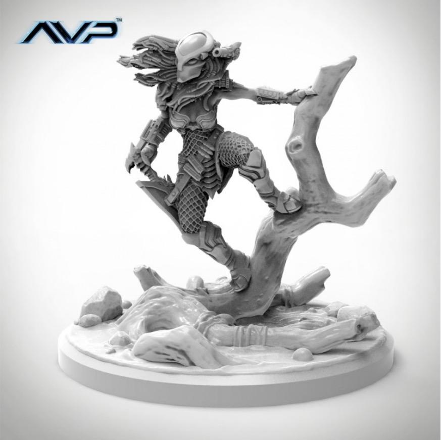 Aliens Vs Predator: The Hunt Begins - Machiko Noguchi Predator Edition