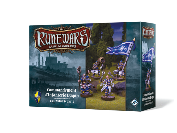 Runewars : Le Jeu De Figurines - Commandement d'Infanterie Daqan