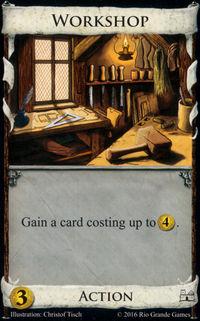 Dominion : Workshop