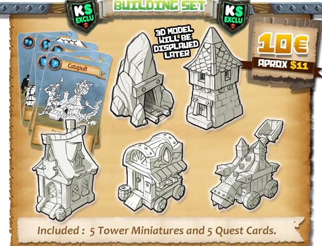 Age of towers : Building set